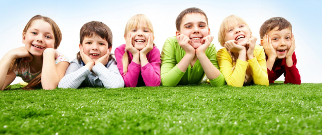 דשא סינטטי כיף לילדים