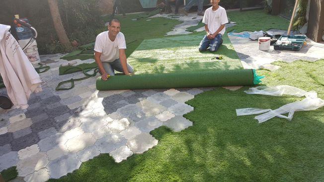 דשא סינטטי חיסכון בהוצאות