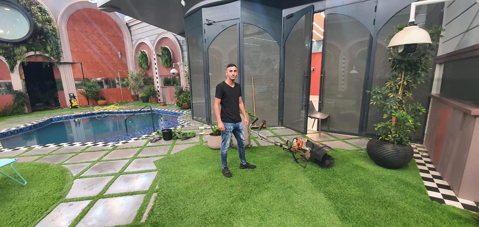 עיצוב גינה ודשא בבית האח הגדול 2020 9