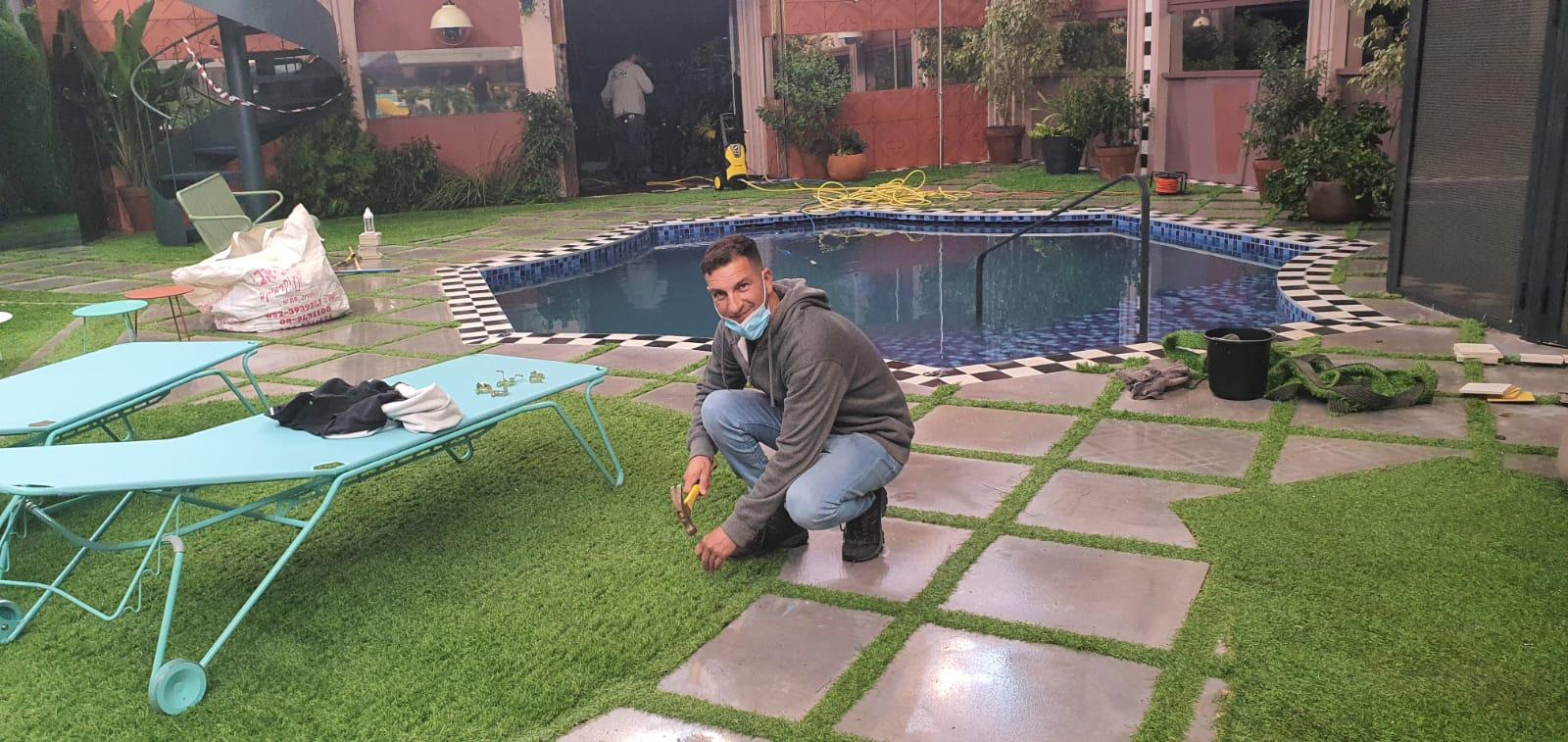 עיצוב גינה ודשא בבית האח הגדול 2020 5