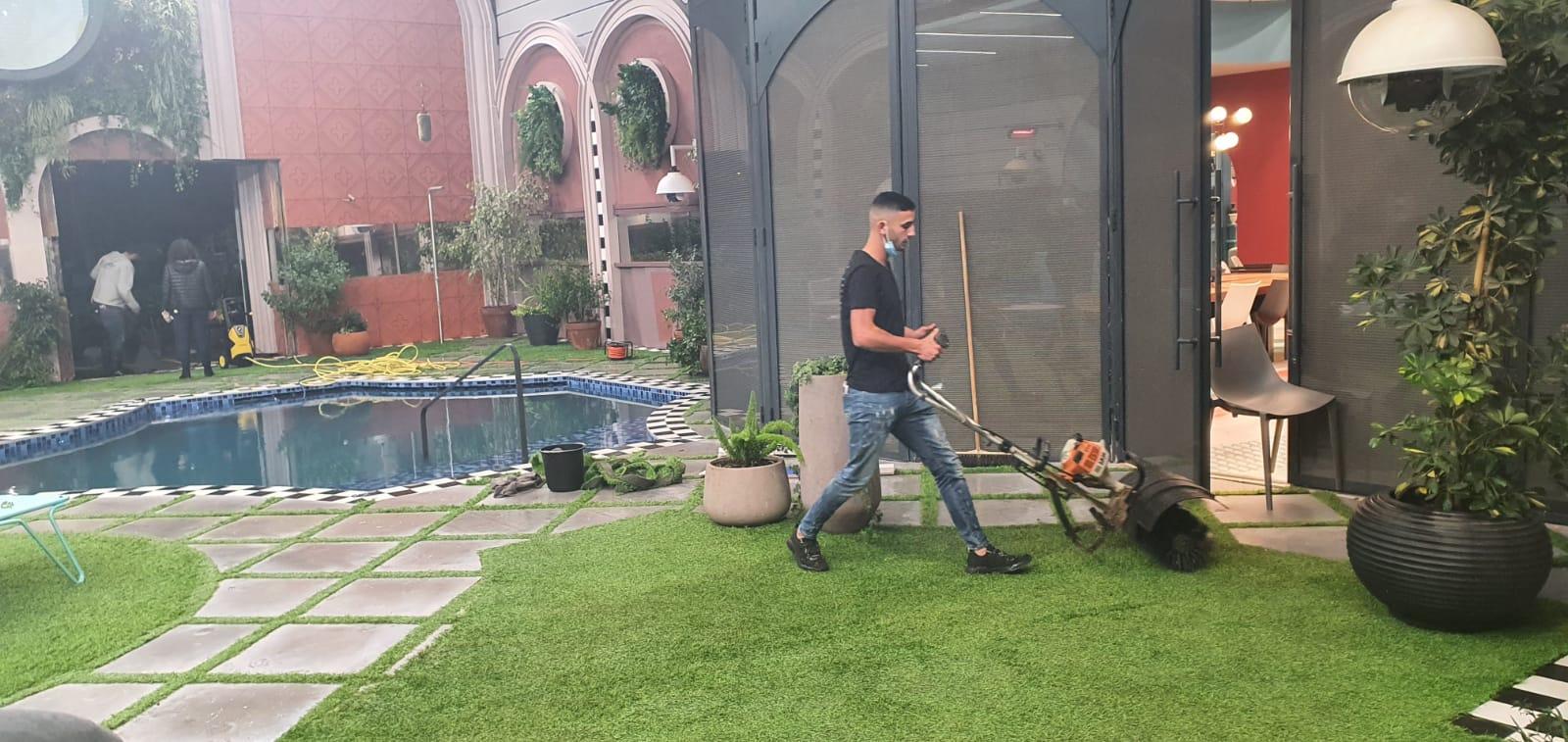עיצוב גינה ודשא בבית האח הגדול 2020 7