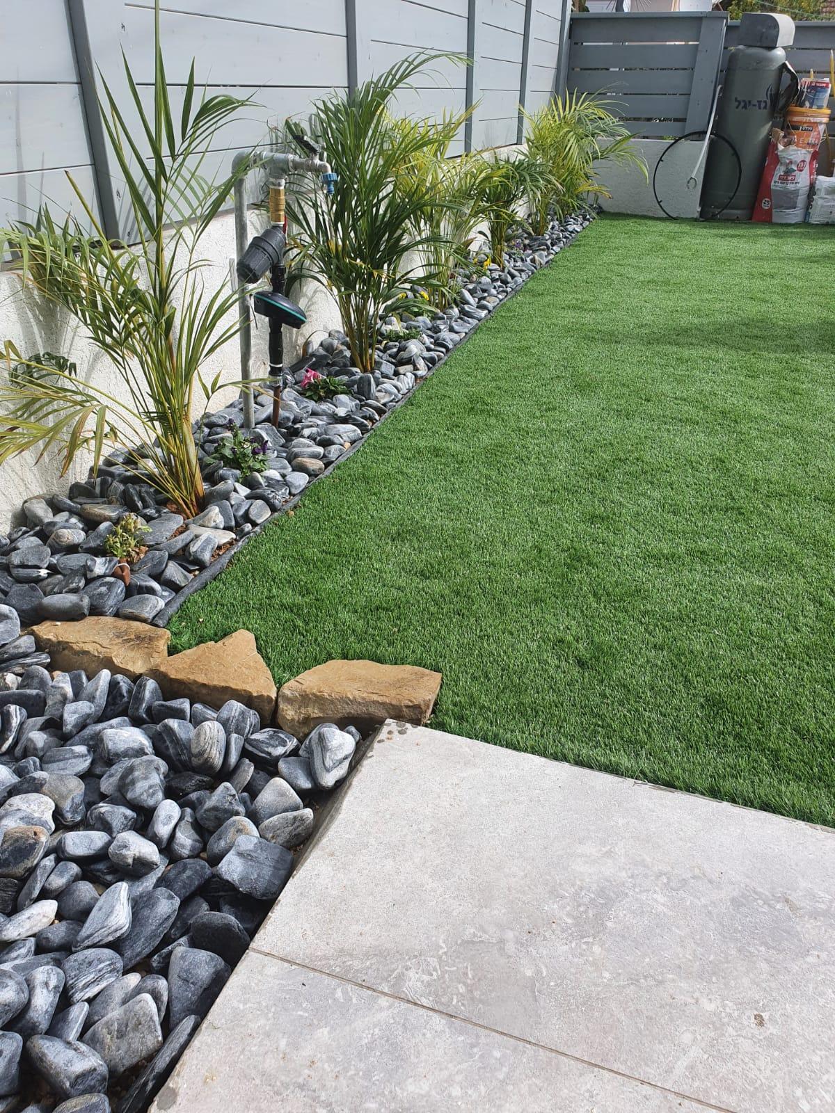 עיצוב גינה ודשא בבית האח הגדול 2020 6